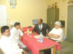 University Registrar Dr.A.M.mahajan, Dr.R.H.Gupta, M.C.Member