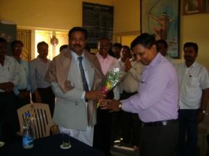 Visit Vice chanceller Dr.Sudhir meshram